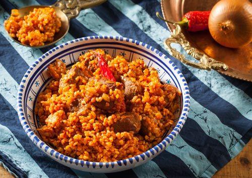 Piatto tipico mediterraneo