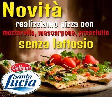pizze senza lattosio