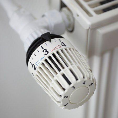 heater knob