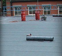 torch applied roofing