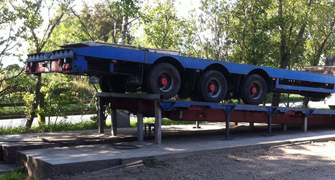 Trailer and truck recovery