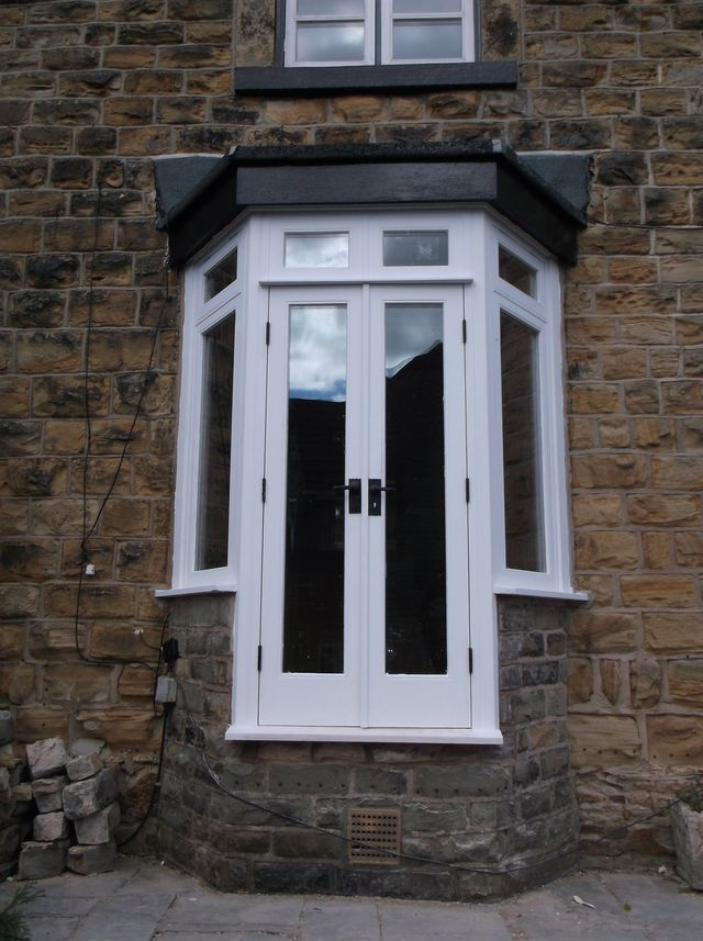 In Addition To Replacing Old Doors For New We Can Also Convert Existing Bay Windows Into Double Allow Rear Property Access Great Those Summer