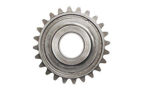 un ingranaggio dentato a forma circolare