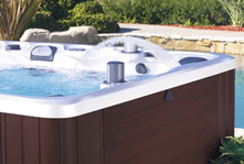 Swim-spa installations