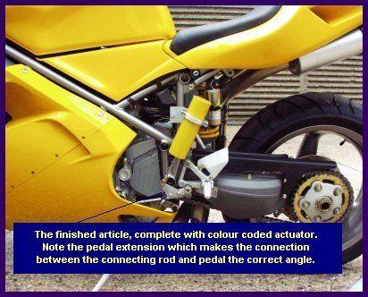 Ducati Kliktronic installation