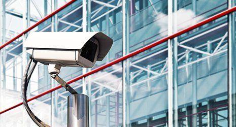 Telecamera di sicurezza innovativa a Roma
