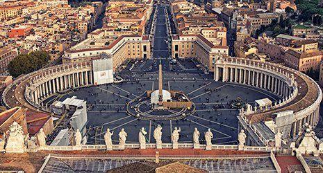 Piazza S.Pietro a Roma