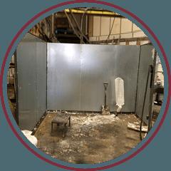 metal after welding