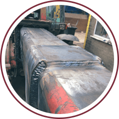 Heavy plant machinery