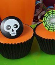 Horror themed cupcakes