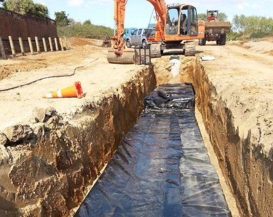 Storm water Reticulation work in progress