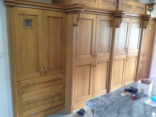 bedroom cabinet installation