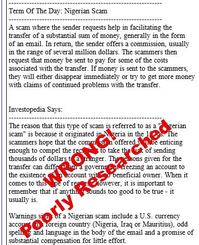 Beware of China Registry Domain Scam