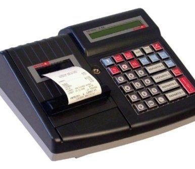 registratore di cassa mobile con fuoriuscita di uno scontrino
