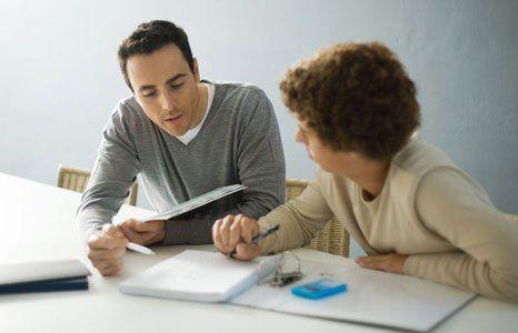 a tutor in class