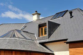 Roofing services - Clydebank, West Dunbartonshire - Tom Fleming Roofing Services - Slate Roof