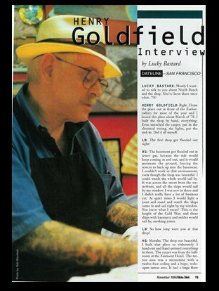 Henry Goldfield Interview