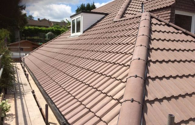A large roof