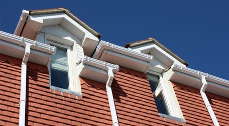 A property with new roof line systems