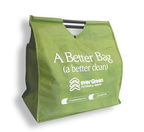 dry cleaning tote bag