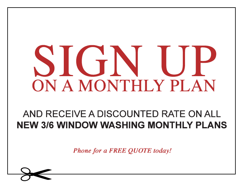 Sign up monthly plan