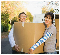 Removal service - Coventry - W Grace Removals - Holding box