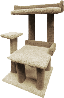 Creations Just 4 Paws Playground 2 Cat Tree