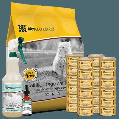 Megacoon Recommends Life's Abundance Cat Food