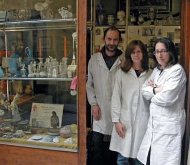 Restauro opere d'arte, Firenze