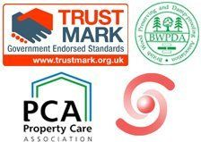 Rising damp - Glasgow - Bromac Ltd - Trust Mark, BWPDA, PCA And GPI logo