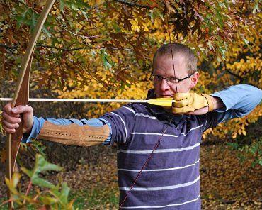 Inhaber von Deichpfeil Bogensport und Bogentrainer Mark Rauchbach
