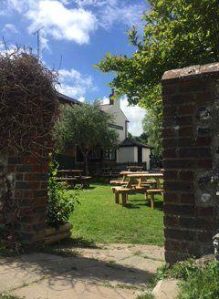 Garden of The Anchor Inn