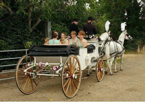 Horse-drawn carriage in East Anglia