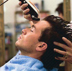 Hair styling - Ilford, Essex - Head Office - Man hair cut