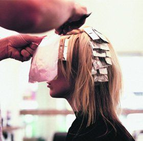 Hair perming - Ilford, Essex - Head Office - Hair highlights