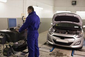 Fully qualified mechanics and staff