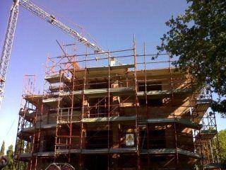 soffitti, Villa in costruzione