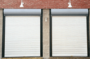 Commercial garage doors constructed by professionals