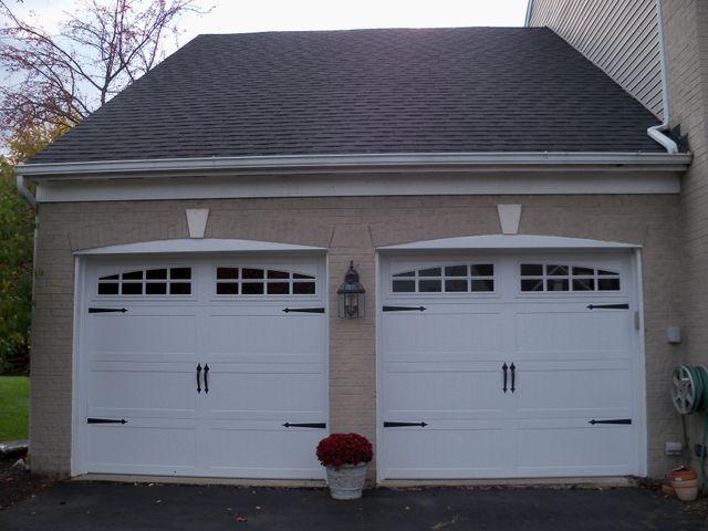 New garage doors in West Chester