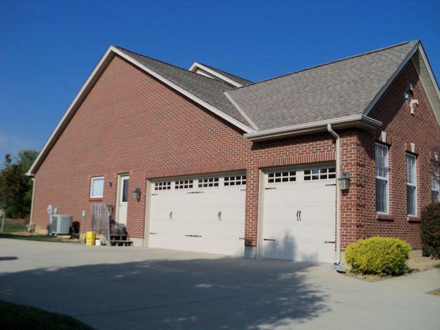 New garage door installed in Springboro, Ohio