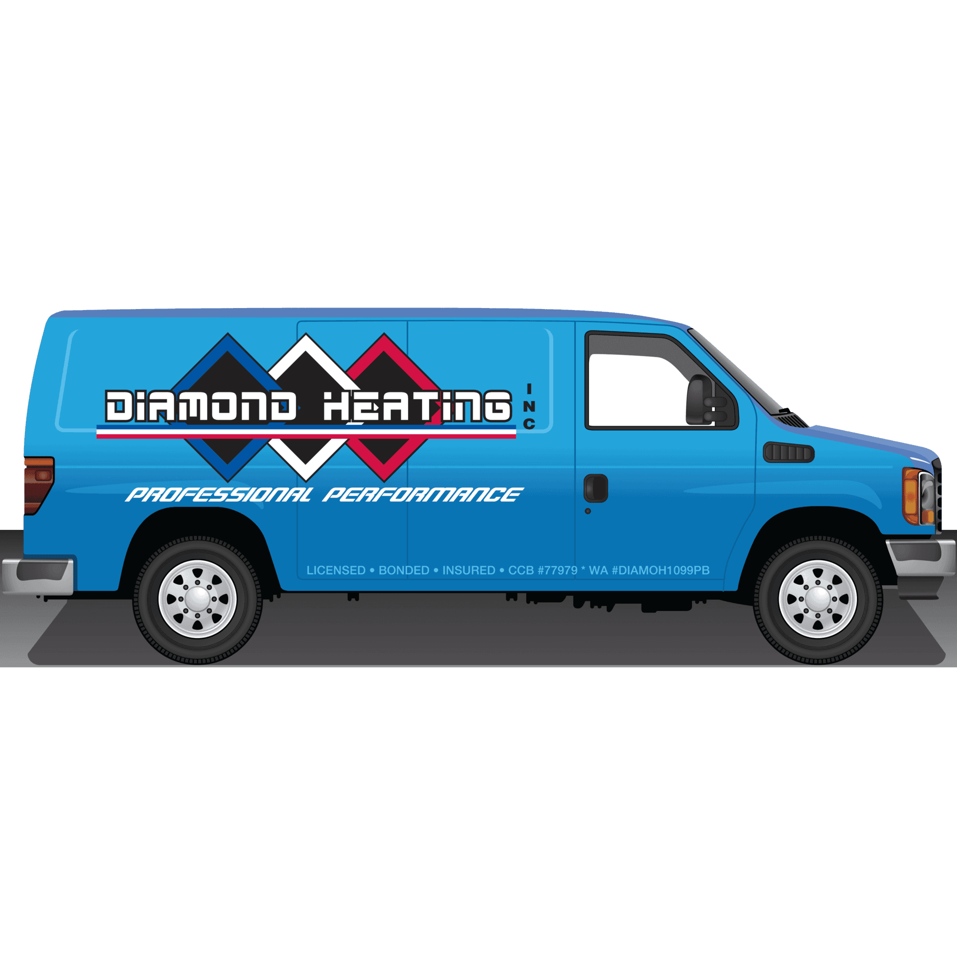 Diamond Heating Logo