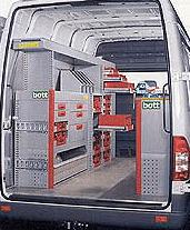 Interno furgone attrezzato