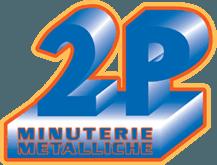 2P minuterie metalliche logo