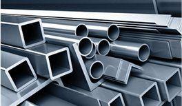 assortimento tubi in alluminio