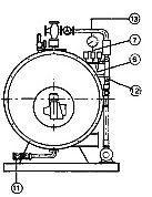 schema verticale degli elementi del generatore