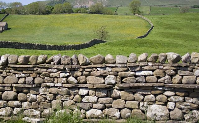 Durable stone walling and cladding