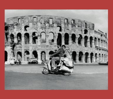 Noleggio scooter, Roma