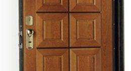 Porta blindata, porta in legno