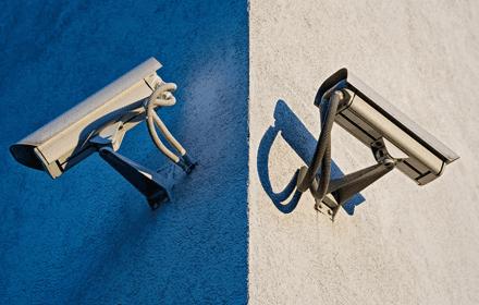 CCTV protected storage