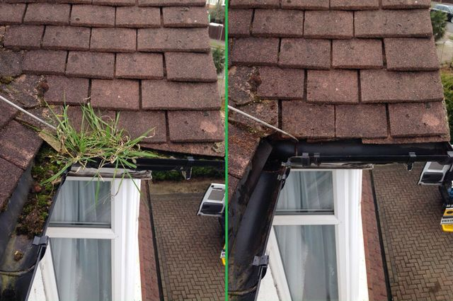 gutter pipes